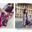PR113 ผ้าพันคอแฟชั่น ผ้าคลุมไหล ลายสวย เก๋ งานดี ผ้าฝ้าย ขนาด 180*100 ซม. thumbnail 2