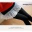 LG002 กางเกงเลคกิ้งขายาว มีผ้าลูกไม้ประดับเป็นกระโปรง หวานน่ารัก มี 4 สี เทาอ่อน เทาเข้ม กรมท่า ดำ thumbnail 6