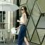 หมดค่ะ:Denim Skirt Korea design กระโปรงยีนส์ทรงดินสอ ผ่าหลัง เน้อผ้ายีนส์ยืดนะคะ ใส่สวยมากเก็บสะโพก ใส่แล้วดูหุ่นเพรียว แมตซ์กับเสื้อแบบไหนก็เข้าหมดค่ะ thumbnail 3