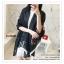 PR028-C ผ้าพันคอแฟชั่น ผ้าไหม พิมพ์ลายสวย น่ารัก งานสวยคะ ขนาด กว้าง 90 ยาว 185 cm. thumbnail 4