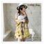 PR030-B ผ้าพันคอแฟชั่น ผ้าไหม พิมพ์ลายสวย ขนาด ยาว 190 กว้าง 160 cm. thumbnail 10