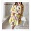 PR030-B ผ้าพันคอแฟชั่น ผ้าไหม พิมพ์ลายสวย ขนาด ยาว 190 กว้าง 160 cm. thumbnail 7
