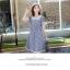 ชุดเดรส แฟชั่น ลายสก็อต BT004 thumbnail 4