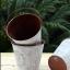 พร้อมส่ง ถัง กระถางต้นไม้สังกะสีมีหูหิ้ว ทำสีพื้นเก่า Zakka thumbnail 2