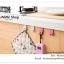 GK278 ตะขอที่แขวนสิ่งของอเนกประสงค์ เช่น แขวนของใช้ในครัว ของใช้ในห้องน้ำ สามารถนำไปเกี่ยวได้ที่ขอบประตู ขอบตู้ สำเนา thumbnail 7