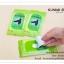 GK189 กระดาษเช็ดทำความสะอาดรองเท้าหนัง ชุบน้ำยาทำความสะอาด 1 แพ็ค มี 10 ชิ้น พกพาไปในที่ต่างๆสะดวก thumbnail 8