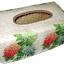 กล่องทิชชูใบลานแบบกล่อง ลายดอกไฮเดรนเยีย 3 สี thumbnail 1