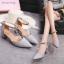 รองเท้า แฟชั่น ส้นสูง สายคล้อง สไตล์เกาหลี J005 thumbnail 3