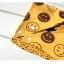 ฺฺฺฺฺฺฺฺฺฺBN013 ผ้ากันเปื้อน ผ้ากันน้ำลาย ทรงสามเหลี่ยม ลายหนวด ด้านหลังเป็นลายอมยิ้ม มีแป๊กติดด้านหลังสองระดับ ขนาด ยาว 44 สูง 21 มี 2 สี สีเทา สีเหลือขมิ้น thumbnail 10
