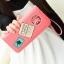 กระเป๋าสตางค์แบบยาว ใส่มือถือได้ สไตล์เกาหลีน่ารัก มีสายคล้องมือ thumbnail 12