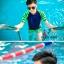 ชุดว่ายน้ำทอม Janest สีน้ำเงินเขียว โคตรเท่ห์ เด่น100เมตร [Pre-Order] S-6XL thumbnail 4