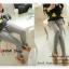 LG049 กางเกงเลคกิ้งขายาว มีผ้าประดับเป็นกระโปรง หวานน่ารัก มี 4 สี เทาอ่อน เทาเข้ม กรมท่า ดำ thumbnail 16
