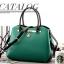 กระเป๋าถือขนาดพกพาสไตล์เกาหลี-เขียว thumbnail 6