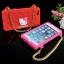 เคสไอโฟน 6 เคสIphone6 เคสคิตตี้ มีสายสะพายได้ น่ารักมาก สีชมพู thumbnail 4