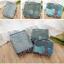 GB120 กระเป๋าจัดระเบียบ จัดเก็บเสื้อผ้าของใช้ต่างๆให้เป็นระเบียบ 1 เซต มี 6 ชิ้น งานสวยคุณภาพ thumbnail 48