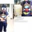 HOTPET เสื้อยืดคอกลมนำเข้า สีน้ำเงินลายมิกกี้เมาส์ น่ารัก แนวๆสไตล์เกาหลีจร้า ขนาด 110 thumbnail 4