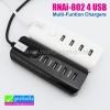 ที่ชาร์จ 4 USB RNA i-802 Multi-Funtion Chargers ลดเหลือ 230 บาท ปกติ 590 บาท