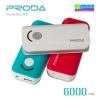 Remax Proda V3 Power bank แบตสำรอง 6000 mAh ลดเหลือ 240 บาท ปกติ 650 บาท
