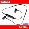หูฟัง บลูทูธ AWEI A920BL Wireless Smart Sports Stereo ราคา 495 บาท ปกติ 1,310 บาท