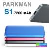 Parkman S1 Power bank แบตสำรอง 7200 mAh ราคา 435 บาท ปกติ 1,080 บาท