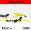 หูฟัง สมอลล์ทอล์ค AWEI TE200vi ลดเหลือ 300 บาท ปกติ 750 บาท