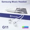 หูฟัง บลูทูธ คุณภาพสูง SAMSUNG G11 Music Headset ราคา 550 บาท ปกติ 1,375 บาท
