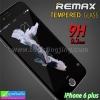 ฟิล์มกระจก iPhone 6 plus Remax tempered glass ราคา 159 บาท ปกติ 650 บาท ความแข็ง 9H