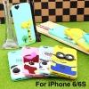 เคส iPhone 6/6s ลายการ์ตูน 3D ลดเหลือ 120 บาท ปกติ 300 บาท