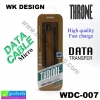 สายชาร์จ Micro USB THRONE WDC-007 ราคา 115 บาท ปกติ 250 บาท
