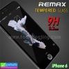 ฟิล์มกระจก iPhone 6 Remax tempered glass ราคา 149 บาท ปกติ 620 บาท ความแข็ง 9H