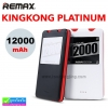 Remax KINGKONG PLATINUM Power bank แบตสำรอง 12000 mAh