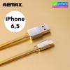 สายชาร์จ iPhone 5 REMAX GOLD Series RM-217i แท้ 100% ราคา 88 บาท ปกติ 310 บาท