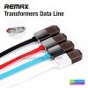 สายชาร์จ 2 in 1 Remax Transformers RC-021t แท้ 100% Micro USB/iPhone 5/6 ราคา 88 บาท ปกติ 420 บาท