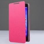 เคสzenfone4.5 (A450CG) เคสแบบฝาพับ สีชมพู