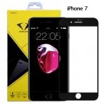 ฟิล์มกระจกนิรภัย iPhone 7 แบบเต็มจอ สีดำ ยี่ห้อ Diamond