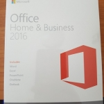 Microsoft Office Home and Business 2016 1User (FPP)