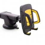 ที่หนีบโทรศัพท์ Long Neck One-Touch Car Mount สีดำ-เหลือง