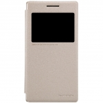 nillkinแท้ เคสฝาพับ Lenovo P70 รุ่น Sparkle Leather Case สีทอง