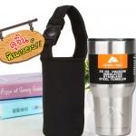 แก้ว ozark trail + กระเป๋าใส่แก้ว สีเงิน