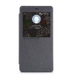 เคสXiaomi redmi note ฝาพับ nillkin Sparkle Leather Case สีดำ
