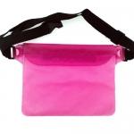 กระเป๋ากันน้ำคาดเอว สีชมพู