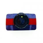กล้องติดรถยนต์ all mate รุ่น AM600 สีน้ำเงิน-แดง