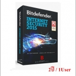 Bitdefender Internet Security 2015 2 ปี/ 1User (เฉพาะ Key-code)