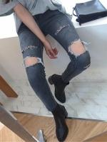กางเกงยีนส์ผู้หญิงแฟชั่น
