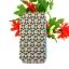 เคสไอโฟน5/5S เคสฝาพับ ลายดอกไม้สีน้ำตาล thumbnail 1