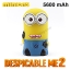แบตสำรอง Power bank Minions Despicable ME2 5600 mAh thumbnail 1