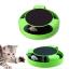 ของเล่นแมว catch-the-mouse สีเขียว thumbnail 1