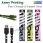 สายชาร์จ Micro USB Army Printing Fast Charge & Speed Data thumbnail 1