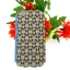 เคสไอโฟน5/5S เคสฝาพับ ลายดอกไม้สีน้ำตาล thumbnail 2