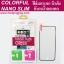 ฟิล์มกระจก iPhone 6,6 Plus เต็มจอ Colorful Nano Slim Glass ขอบเงิน ความแข็ง 9H thumbnail 1